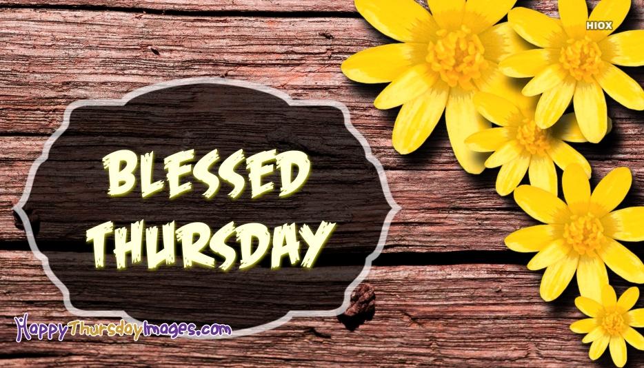Blessed Thursday Images