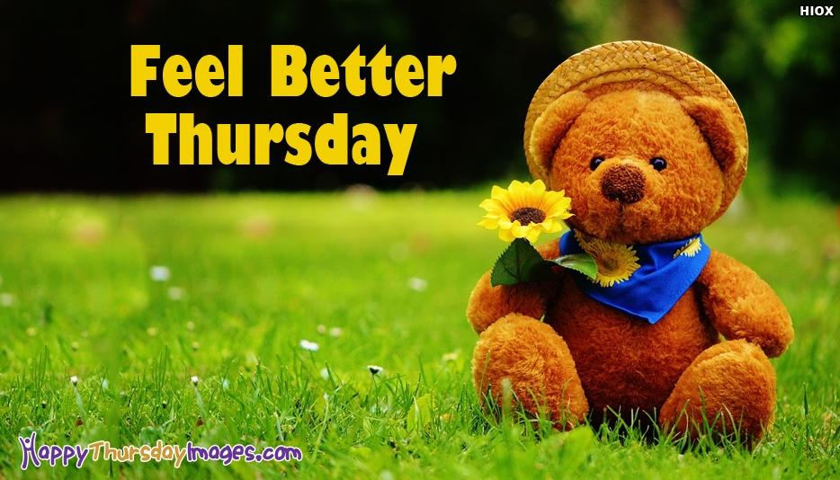 Happy Thursday Images for Feel Better