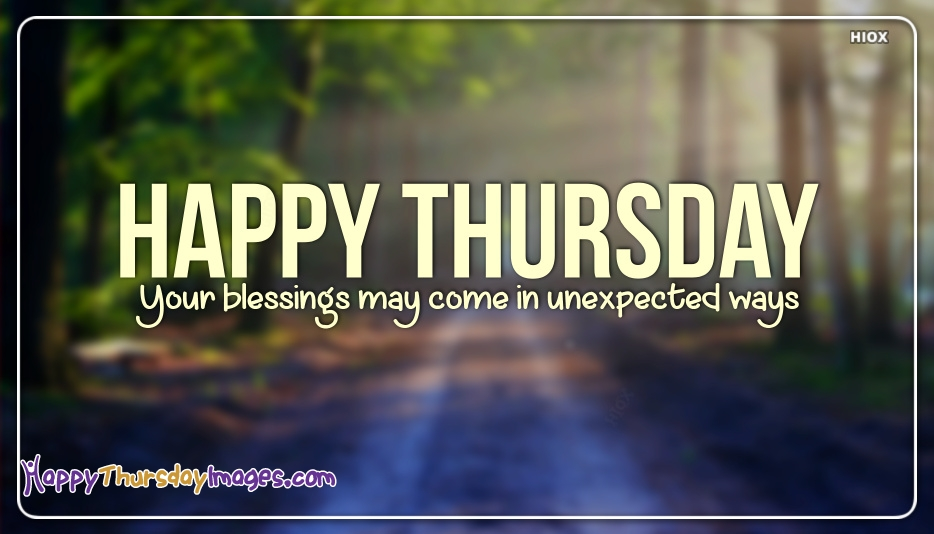 Happy Thursday Images for Blessings