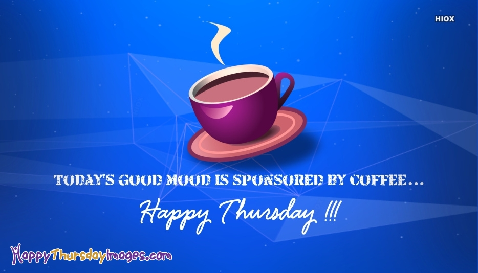 Happy Thursday Coffee Image