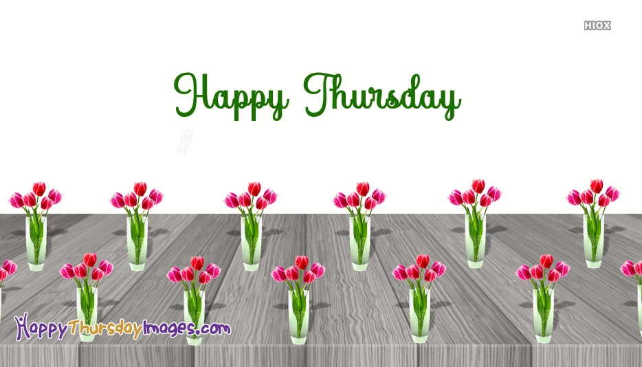 Colorful Happy Thursday Images