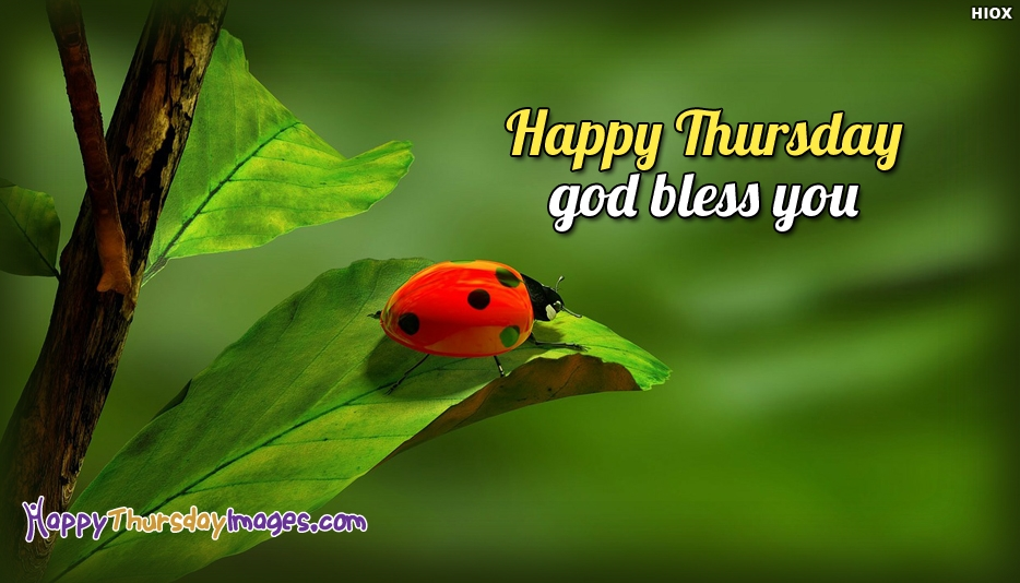 Happy Thursday God Bless You - Happy Thursday Images for Daughter