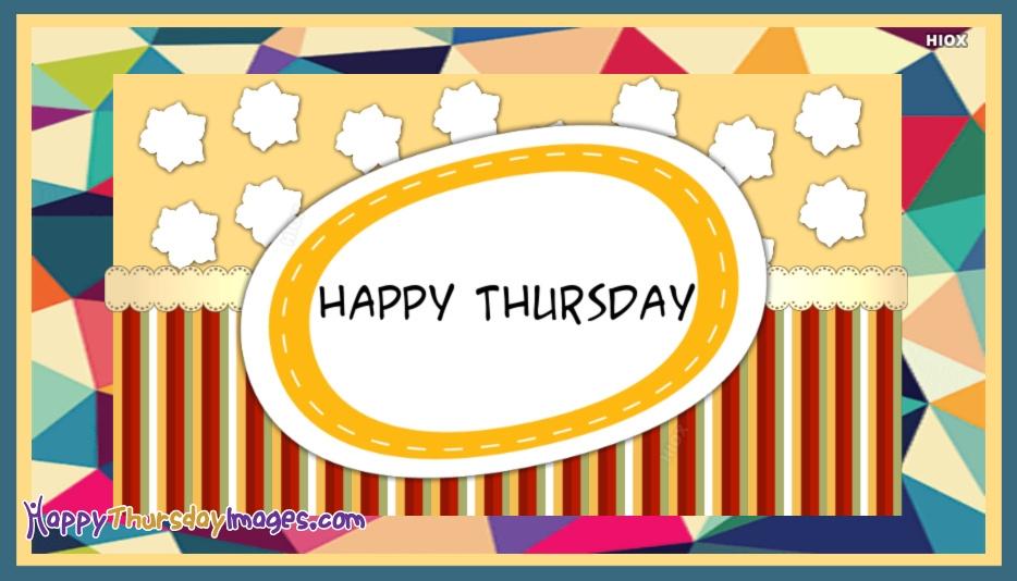 Happy Thursday Image
