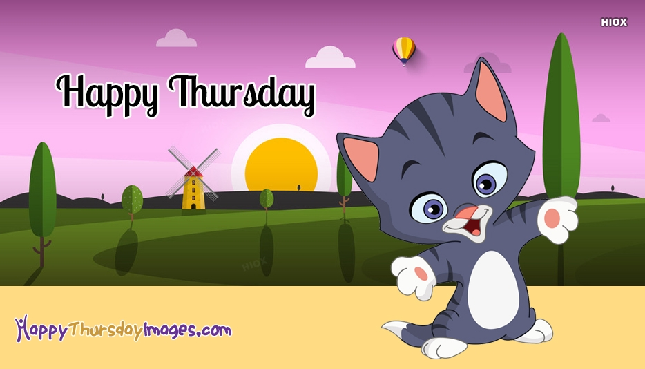 Happy Thursday Kitten Images