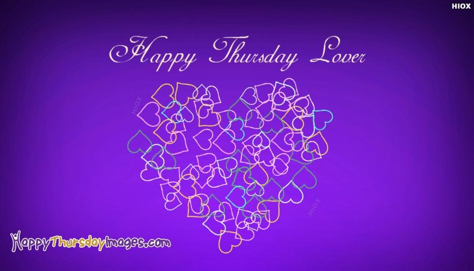 Happy Thursday Lover