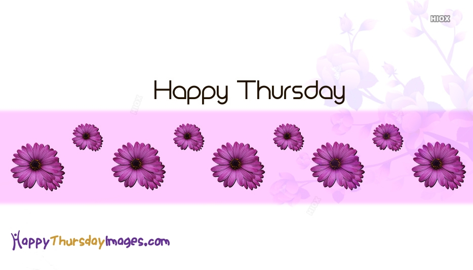 Beautiful Happy Thursday Images