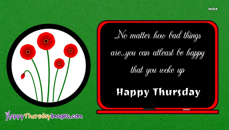 Happy Thursday Images for Happy Thursday Flowers
