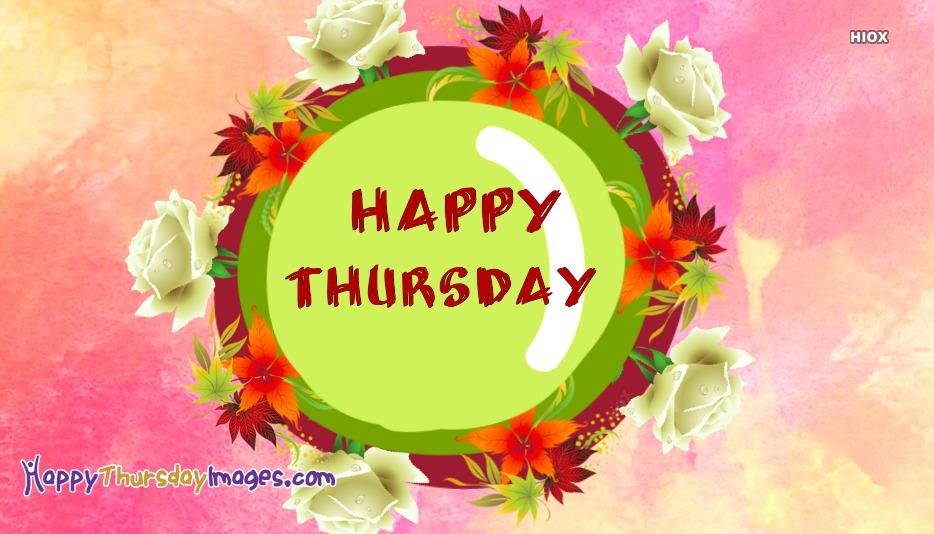 Happy Thursday Rose Images