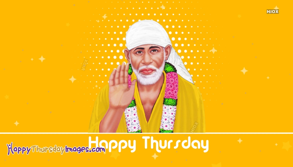 Happy Thursday Sai Baba Gif
