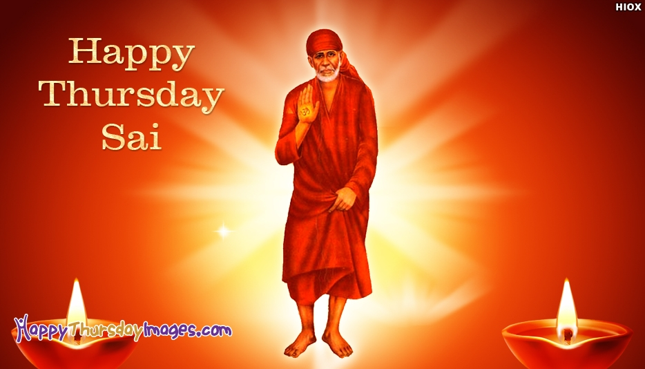 Happy Thursday Sai Image At Happythursdayimagescom