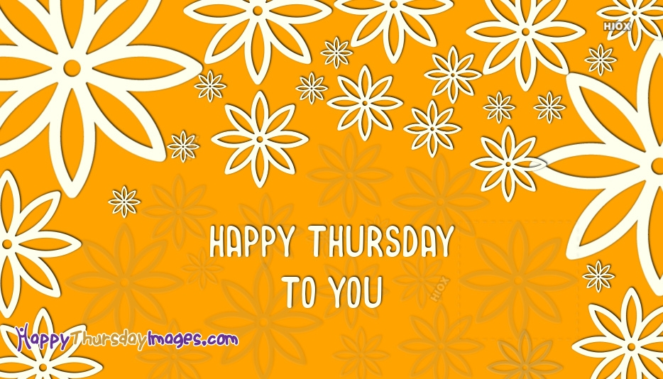 Happy Thursday To You Images