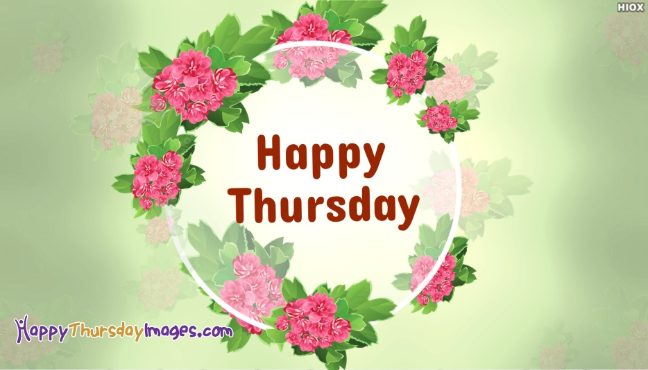 Happy Thursday Greetings Images