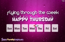 Happy Thursday To You All
