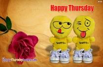 Happy Thursday Emoji