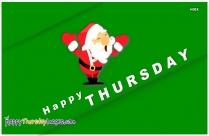 Happy Thursday Christmas