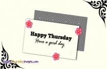 Happy Thursday Animated