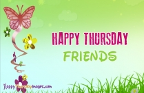 Happy Thursday Friends