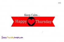 Happy Thursday Greetings