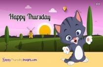 Happy Thursday Kitten