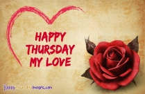 Happy Thursday Images for Wife