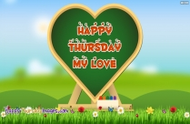 Happy Thursday My Love Picture