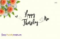 Happy Thursday Orange Flowers
