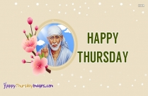 Happy Thursday Sai Baba