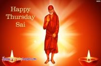 Happy Thursday Sai Image
