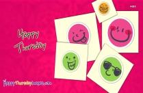 Happy Thursday Smiley Face