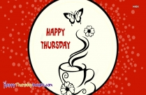 Happy Thursday With Coffee