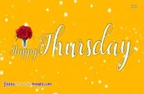Happy Thursday Yellow