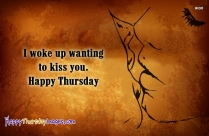 Happy Thursday Sweetheart