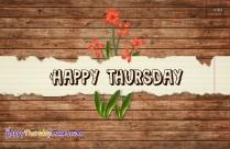 Thursday Messages