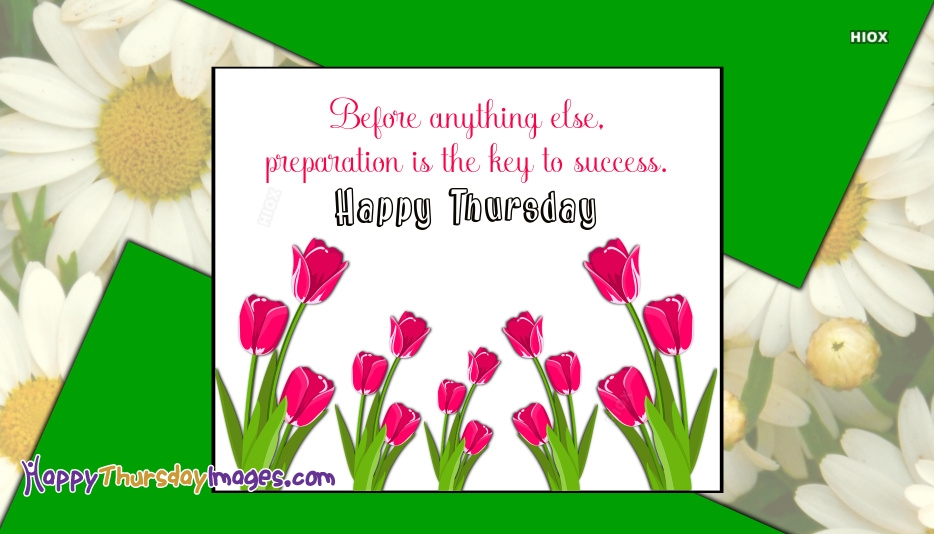 Thursday Quotes and Pictures
