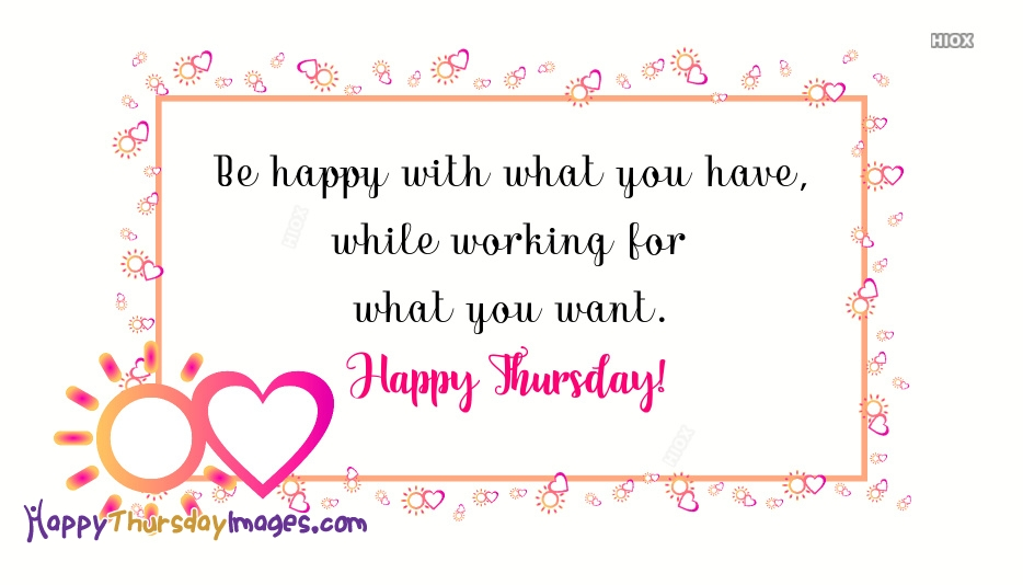 Thursday Quotes Images